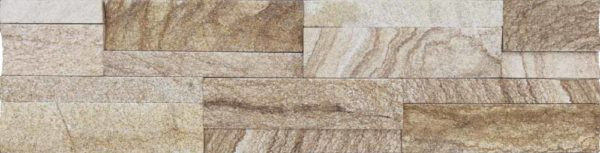 """Serie: Fachaleta Famille: RevÊtement de pierre naturelle et de brique Format: 15 x 60 cm (6""""x24"""" ) Couleur: Beige"""