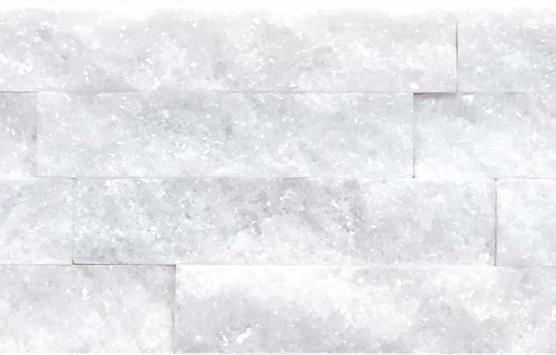 """Serie: Fachaleta Famille: RevÊtement de pierre naturelle et de brique Format: 15 x 55 cm (6""""x22"""" ) Couleur: Blanc"""