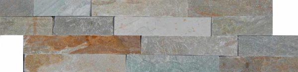 """Serie: Fachaleta Famille: RevÊtement de pierre naturelle et de brique Format: 15 x 55 cm (6""""x22"""" ) Couleur: Multicolor"""