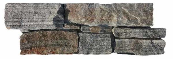 """Serie: Petra Famille: RevÊtement de pierre naturelle et de brique Format: 20 x 55 cm (8""""x22"""" ) Couleur: Marronne"""